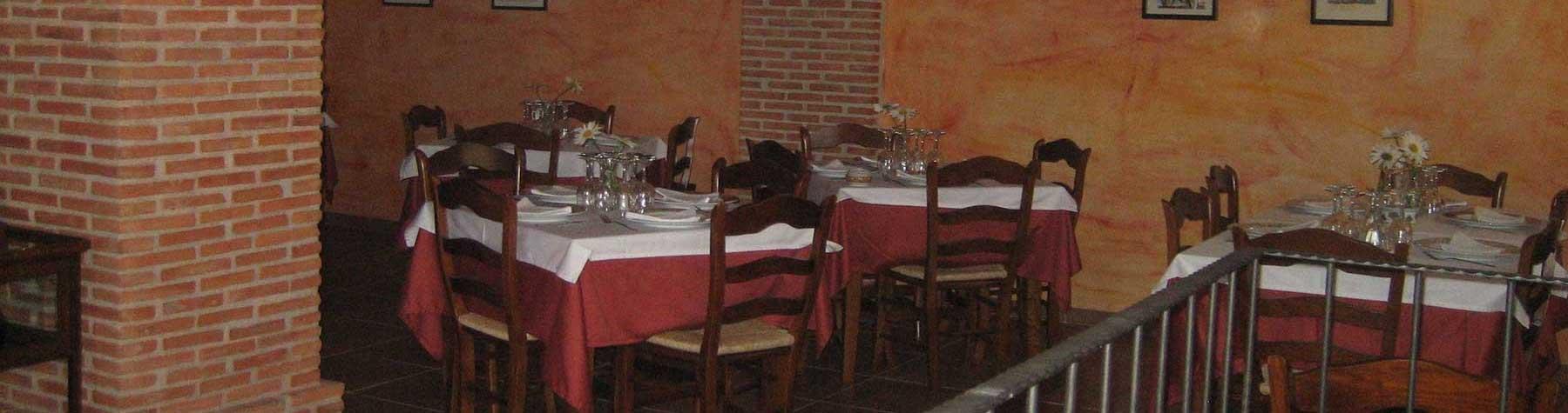 Casa Rural los Pedregales - Servicio Comedor